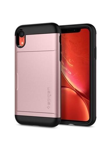 Spigen iPhone XR Kılıf, Slim Armor CS Altın
